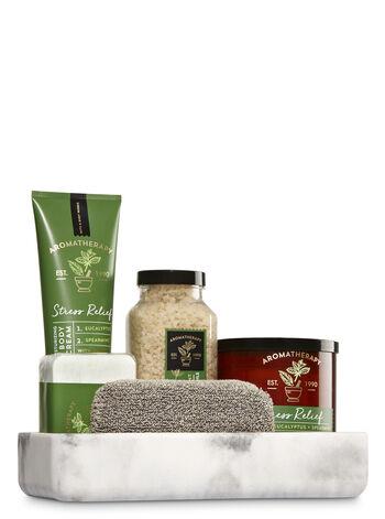 Stress Relief - Eucalyptus & Spearmint Gift Set - Bath And Body Works