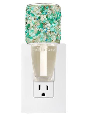 Glittery Turquoise Stone Wallflowers Fragrance Plug