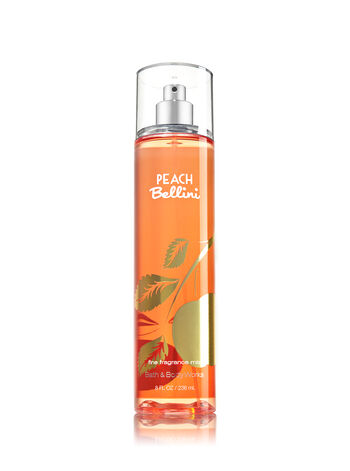 Signature Collection Peach Bellini Fine Fragrance Mist - Bath And Body Works