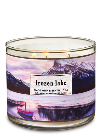 Frozen Lake 3 Wick Candle Bath Amp Body Works