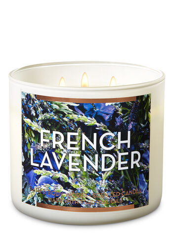 French Lavender 3-Wick Candle - Bath And Body Works