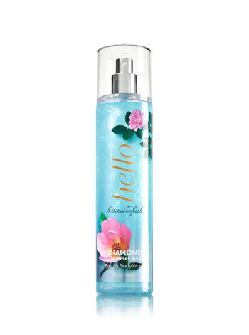 Signature Collection Hello Beautiful Diamond Shimmer Mist - Bath And Body Works