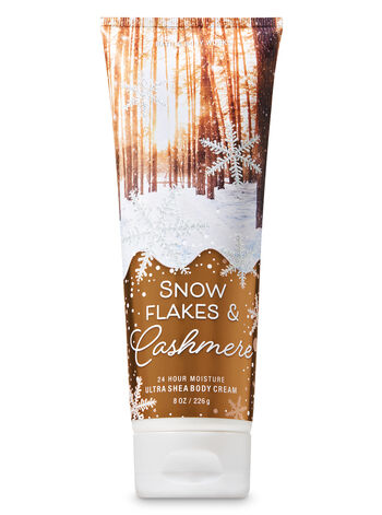 Signature Collection Snowflakes & Cashmere Ultra Shea Body Cream - Bath And Body Works