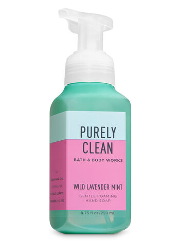 Wild Lavender Mint Gentle Foaming Hand Soap - Bath And Body Works