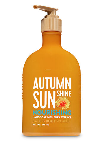 Autumn Sunshine Hand Soap with Shea Extract - Bath And Body Works