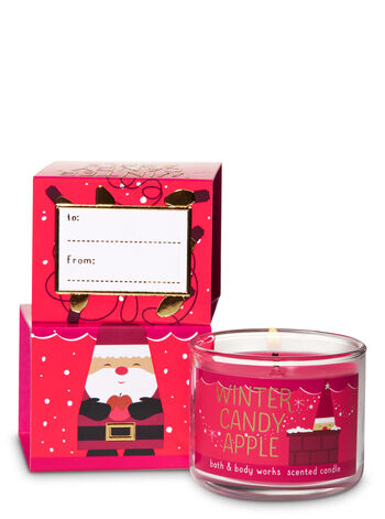 Winter Candy Apple Mini Candle - Bath And Body Works