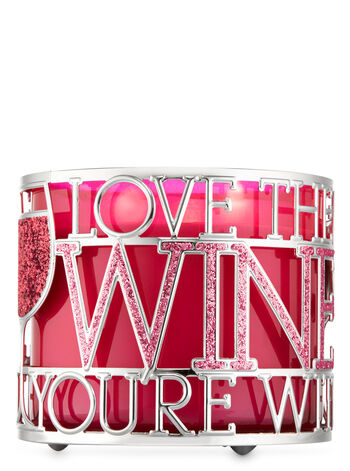 Love the Wine You're With 3-Wick Candle Holder - Bath And Body Works