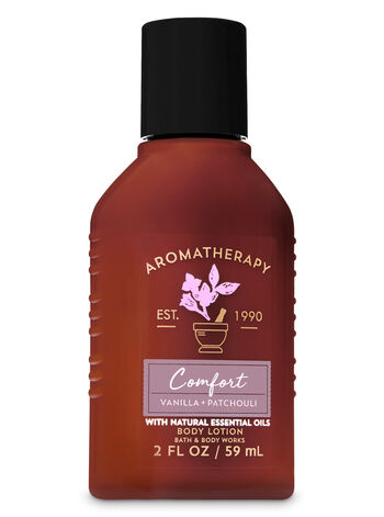 Aromatherapy Comfort - Vanilla & Patchouli Travel Size Body Lotion - Bath And Body Works