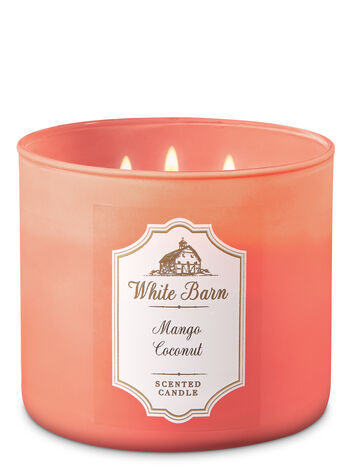 Mango Coconut 3-Wick Candle - Bath And Body Works