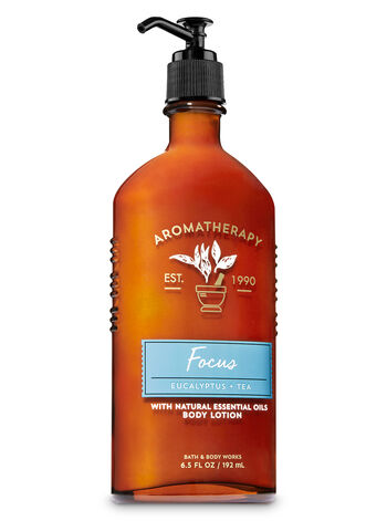Aromatherapy Focus - Eucalyptus & Tea Body Lotion - Bath And Body Works