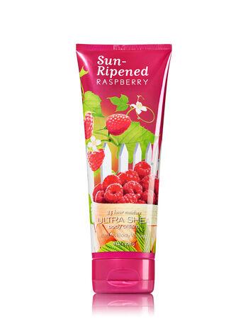 Signature Collection Sun-Ripened Raspberry Ultra Shea Body Cream - Bath And Body Works