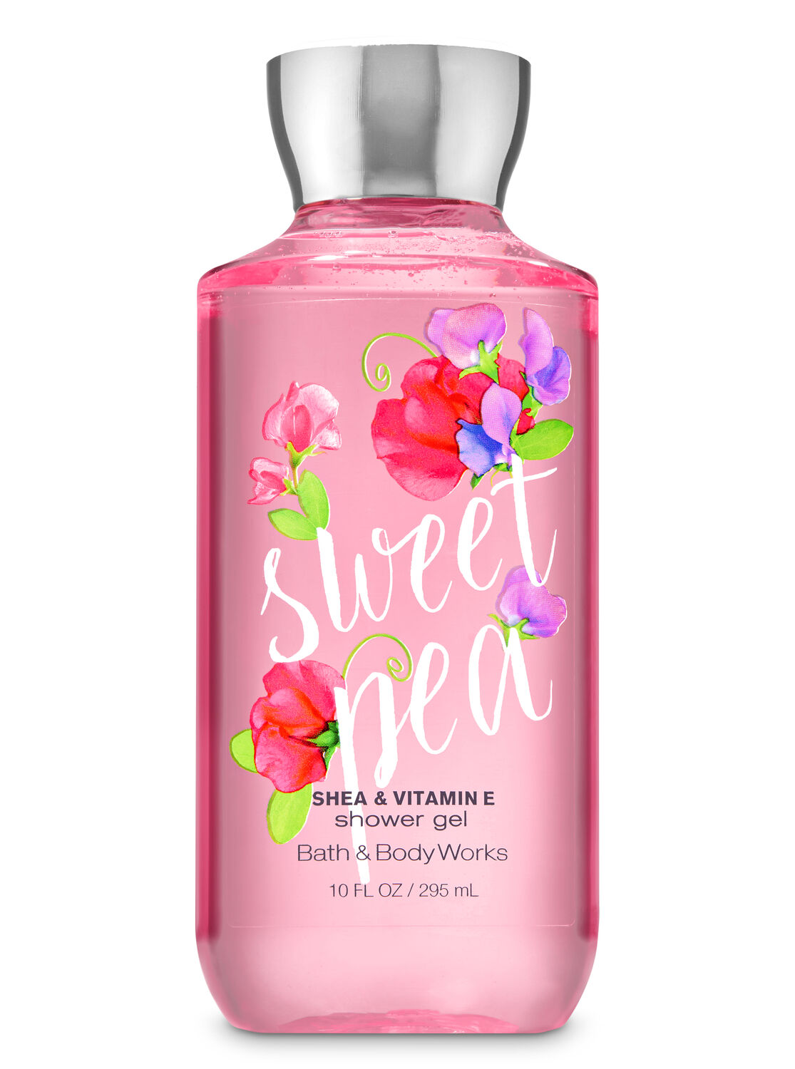 fragrant shower gel body wash bath body works signature collection sweet pea shower gel bath and body works