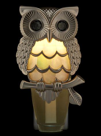 Silver Owl Nightlight Wallflowers Fragrance Plug
