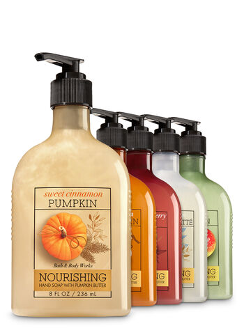 Pumpkin Everything 5-Pack Hand Soap with Pumpkin Butter - Bath And Body Works