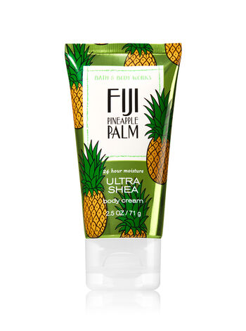 Signature Collection Fiji Pineapple Palm Travel Size Body Cream - Bath And Body Works
