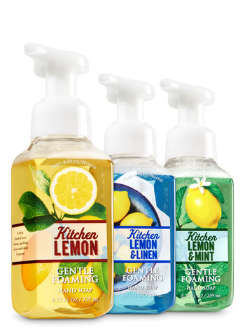 Kitchen Lemon 3-Pack Gentle Foaming Soap - Bath And Body Works