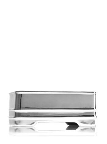 Silver Metal Soap Caddy