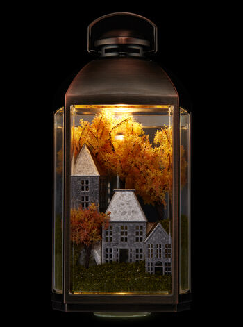 Fall Lantern Scene Nightlight Wallflowers Fragrance Plug