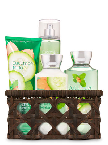 Cucumber Melon Basket of Favorites Gift Kit - Bath And Body Works