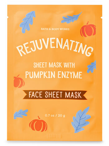 Rejuvenating with Pumpkin Enzyme Face Sheet Mask
