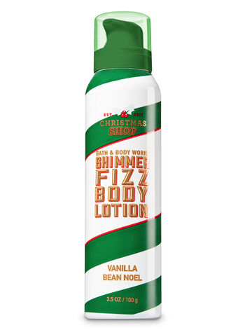 Signature Collection Vanilla Bean Noel Shimmer Fizz Body Lotion - Bath And Body Works