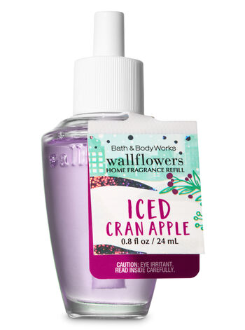 Iced Cranberry Apple Wallflowers Fragrance Refill - Bath And Body Works