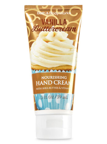 Vanilla Buttercream Nourishing Hand Cream - Bath And Body Works