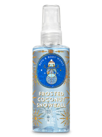 Signature Collection Frosted Coconut Snowball Travel Size Fine Fragrance Mist - Bath And Body Works