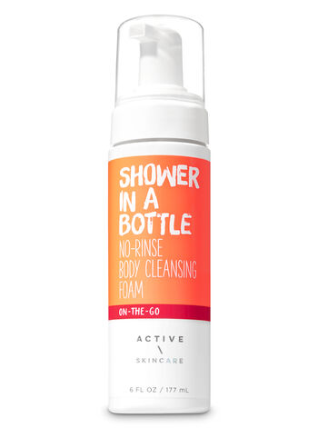Signature Collection Shower in a Bottle No-Rinse Body Cleansing Foam - Bath And Body Works