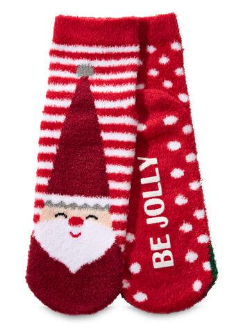 Best Friends Santa & Elf Shea-Infused Lounge Socks