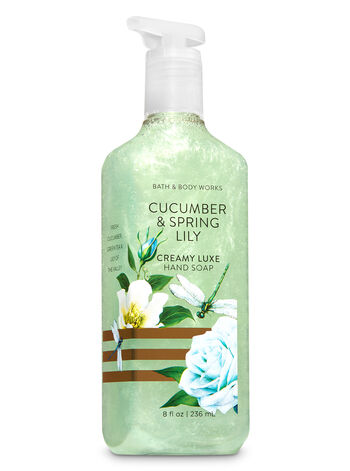 Cucumber & Spring Lily Creamy Luxe Hand Soap - Bath And Body Works