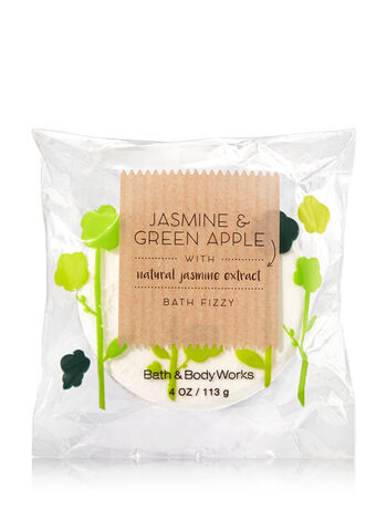 Signature Collection Jasmine & Green Apple Bath Fizzy - Bath And Body Works