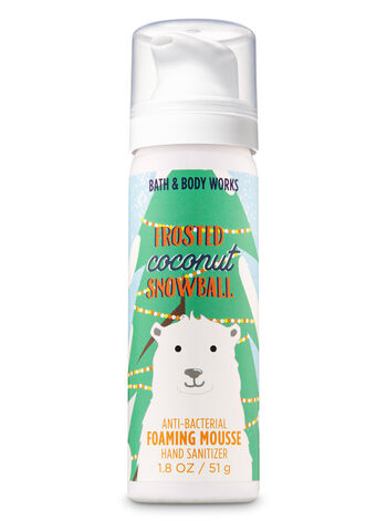 Frosted Coconut Snowball Foaming Hand Sanitizer - Bath And Body Works