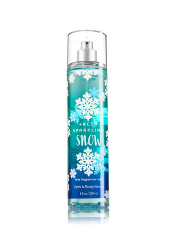 Signature Collection Fresh Sparkling Snow Fine Fragrance Mist - Bath And Body Works