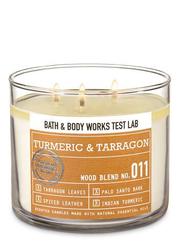 Bath & Body Works Test Lab Blend No. 011 Turmeric & Tarragon 3-Wick Candle - Bath And Body Works