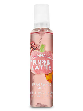 Marshmallow Pumpkin Latte Travel Size Fine Fragrance Mist - Bath And Body Works
