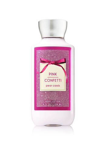 Signature Collection Pink Confetti Body Lotion - Bath And Body Works