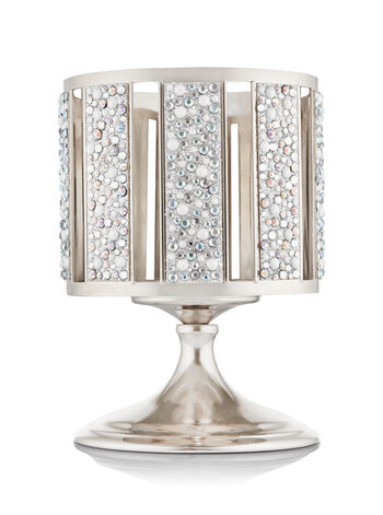 Gem & Pearls Striped Pedestal 3-Wick Candle Sleeve