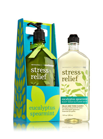 Signature Collection Eucalyptus Spearmint Lather & Lotion Gift Set - Bath And Body Works