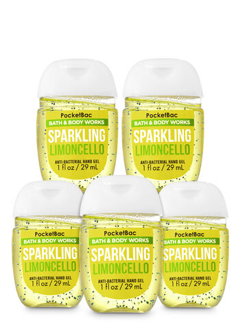 Sparkling Limoncello PocketBac Hand Sanitizers, 5-Pack - Bath And Body Works