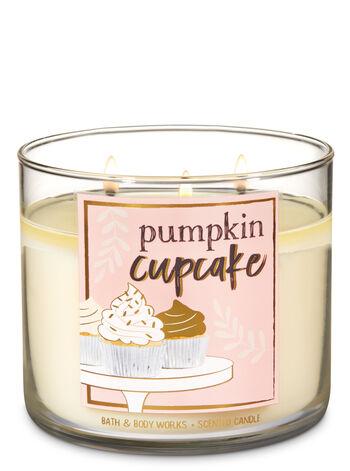 Pumpkin Cupcake 3-Wick Candle - Bath And Body Works
