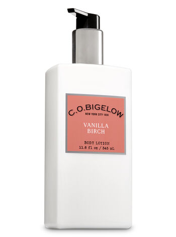 C.O. Bigelow Vanilla Birch Body Lotion - Bath And Body Works