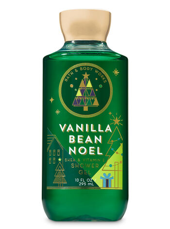 Signature Collection Vanilla Bean Noel Shower Gel - Bath And Body Works