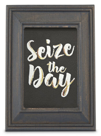 Wooden Seize The Day Frame Wallflowers Fragrance Plug