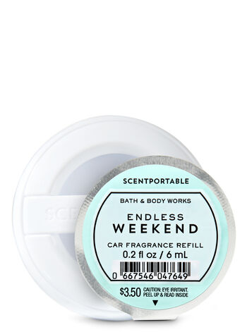 Endless Weekend Scentportable Fragrance Refill - Bath And Body Works