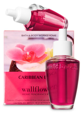 Caribbean Escape Wallflowers Refills, 2-Pack - Bath And Body Works