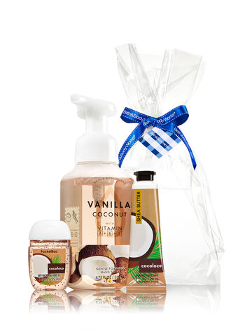 Vanilla Coconut Happy Hands Gift Kit - Bath And Body Works