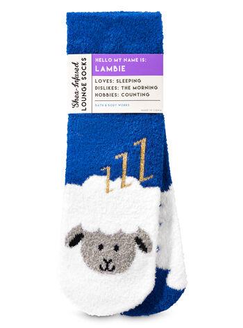 Lambie The Lamb Shea-Infused Lounge Socks - Bath And Body Works