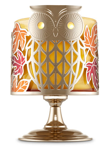 Maple Owl Pedestal 3-Wick Candle Sleeve