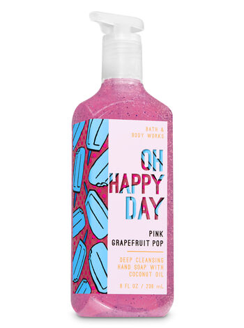Pink Grapefruit Pop Deep Cleansing Hand Soap - Bath And Body Works